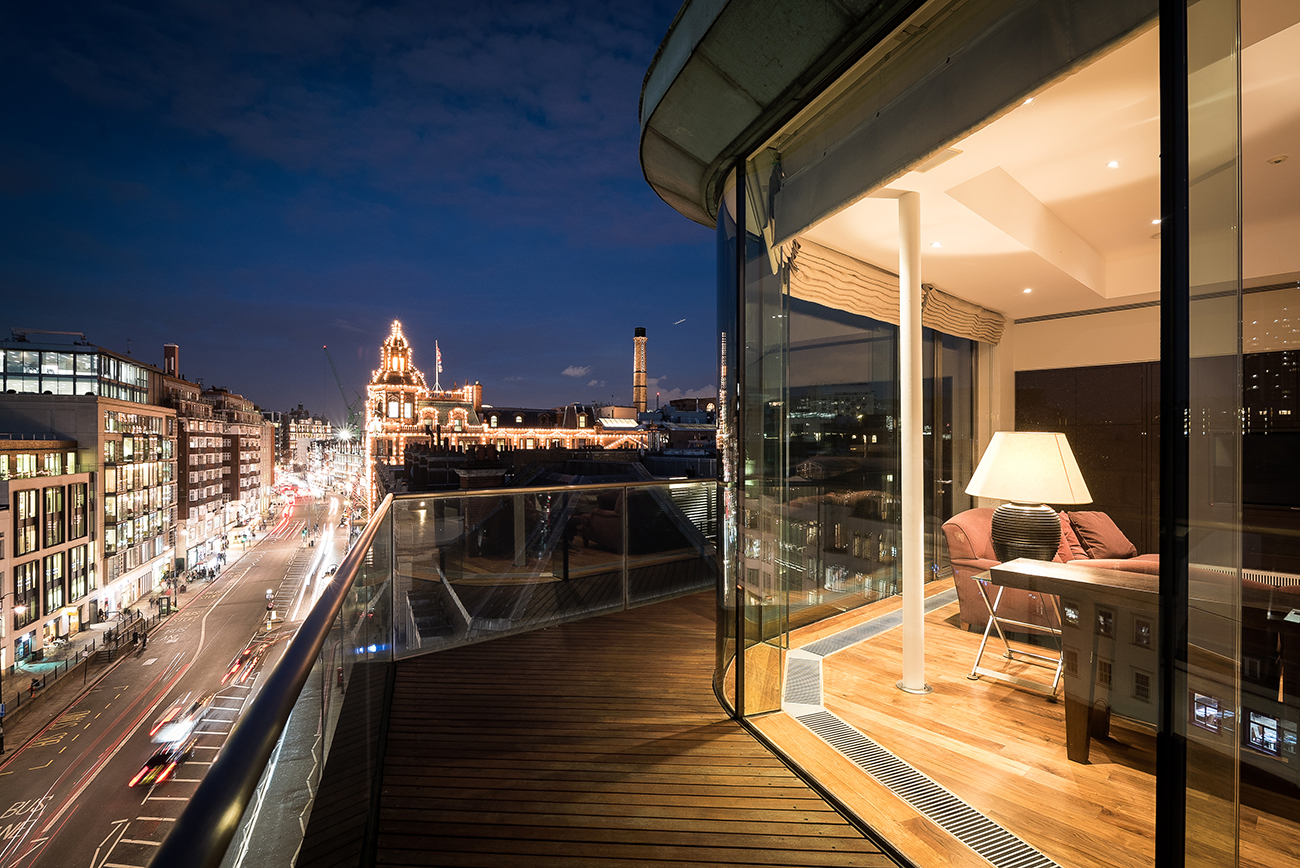 Penthouse Dusk Photography